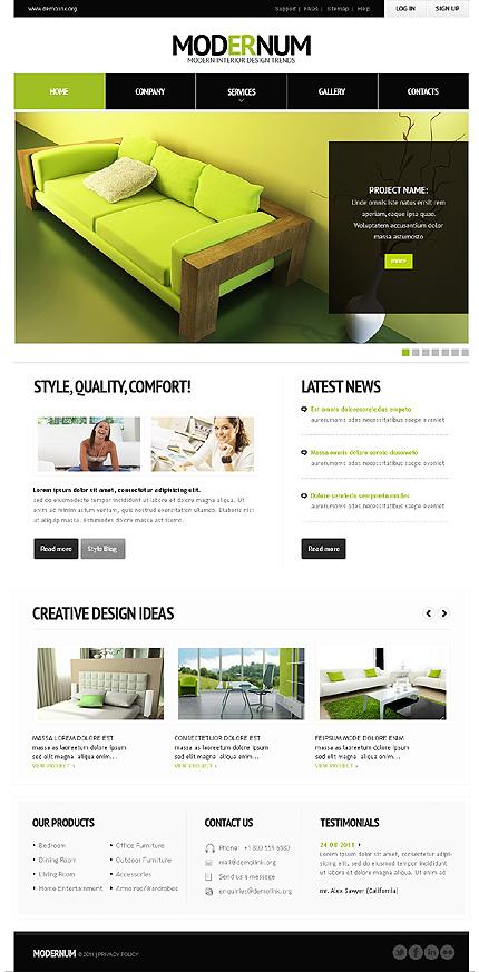 Realizzazione siti web negozi arredamento siti architetti for Sito per architetti